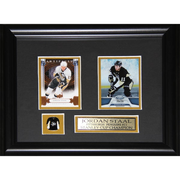 Jordan Staal Pittsburgh Penguins 2-card Frame