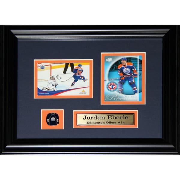 Jordan Eberle Edmonton Oilers 2-card Frame