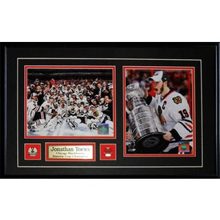 Jonathan Toews Chicago Blackhawks Stanley Cup 2-photo Frame