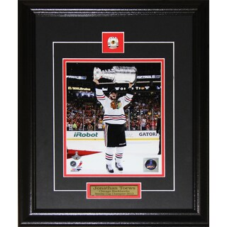 Jonathan Toews Chicago Blackhawks 2013 Stanley Cup 8x10-inch Frame