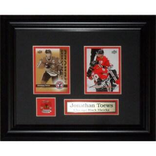 Jonathan Toews Chicago Blackhawks 2-card Frame