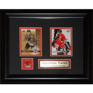 Jonathan Toews Chicago Blackhawks 2-card Frame