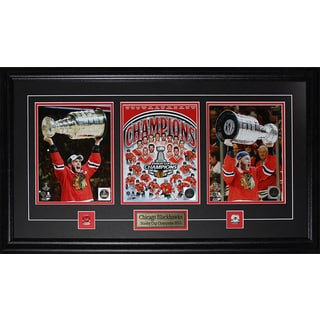 Jonathan Toews and Patrick Kane Chicago Blackhawks 2015 Stanley Cup 3 Photo Frame