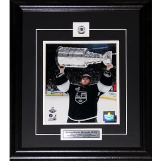 Jonathan Quick Los Angeles Kings Stanley Cup 8x10-inch Frame