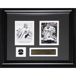 Jonathan Quick Los Angeles Kings 2-card Frame