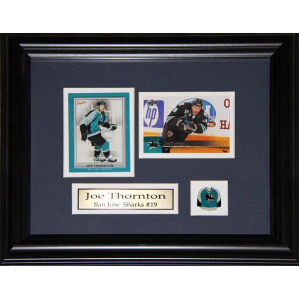 Joe Thornton San Jose Sharks 2-card Frame