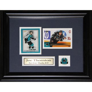Joe Thornton San Jose Sharks 2-card Frame