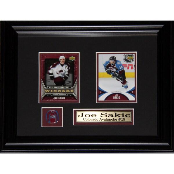 Joe Sakic Colorado Avalanche 2-card Frame