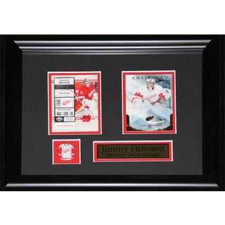 Jimmy Howard Detroit Red Wings 2-card Frame
