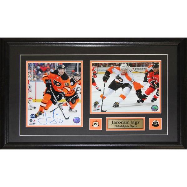 Jaromir Jagr Philadelphia Flyers Signed 2-photo Frame