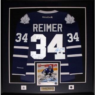 Shop James Reimer Toronto Maple Leafs Signed Jersey Frame