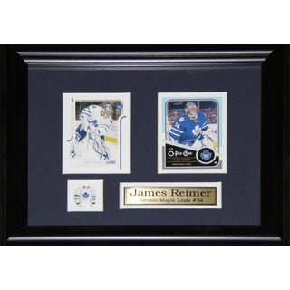 James Reimer Toronto Maple Leafs 2-card Frame