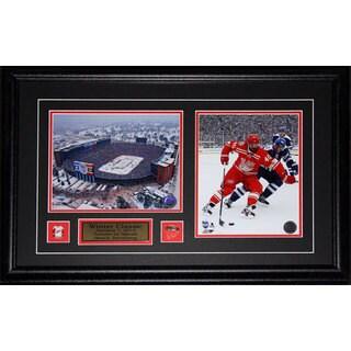 Henrik Zetterberg Detroit Red Wings 2014 Winter Classic 2-photo Frame
