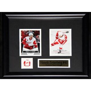 Henrik Zetterberg Detroit Red Wings 2-card Frame