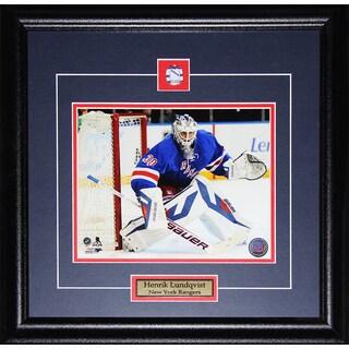 Henrik Lundqvist New York Rangers 8x10-inch Frame
