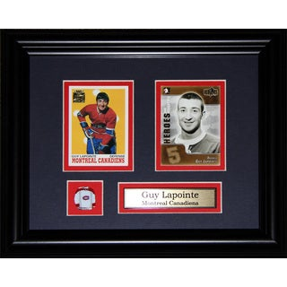 Guy Lapointe Montreal Canadiens Nhl 2-card Frame