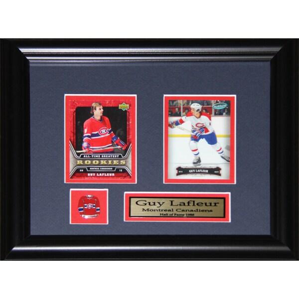 Guy Lafleur Montreal Canadiens 2-card Frame