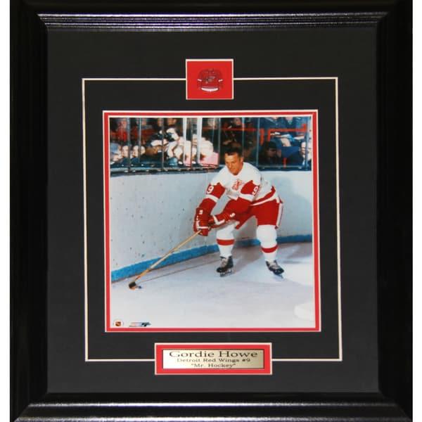 Gordie Howe Detroit Red Wings 8x10-inch Frame