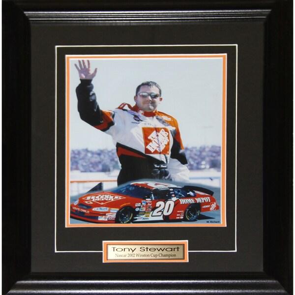 Tony Stewart Nascar 8x10-inch Frame
