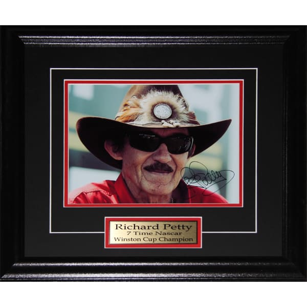 Richard Petty Nascar Signed 8x10-inch Frame