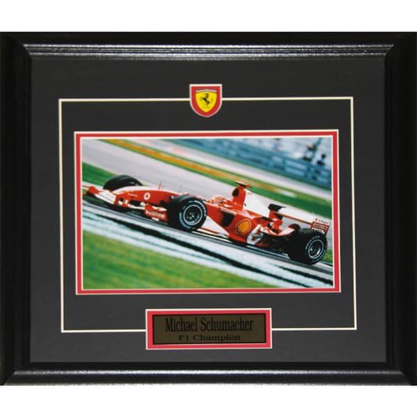 Michael Schumacher F1 8x10-inch Frame