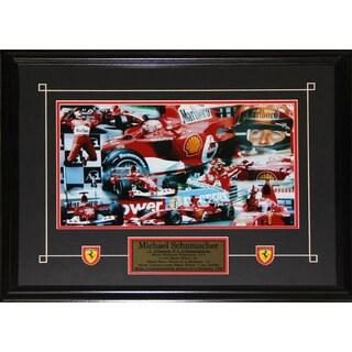 Michael Schumacher F1 11x14 Frame