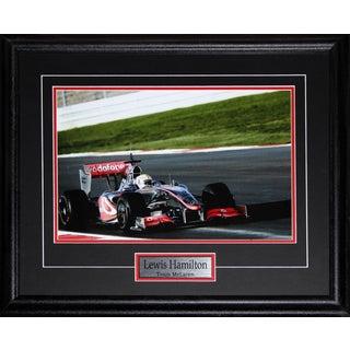 Lewis Hamilton Team Mclaren F1 11x14 Frame