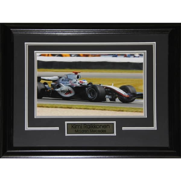Kimi Raikkonen Racing 8x10-inch Frame