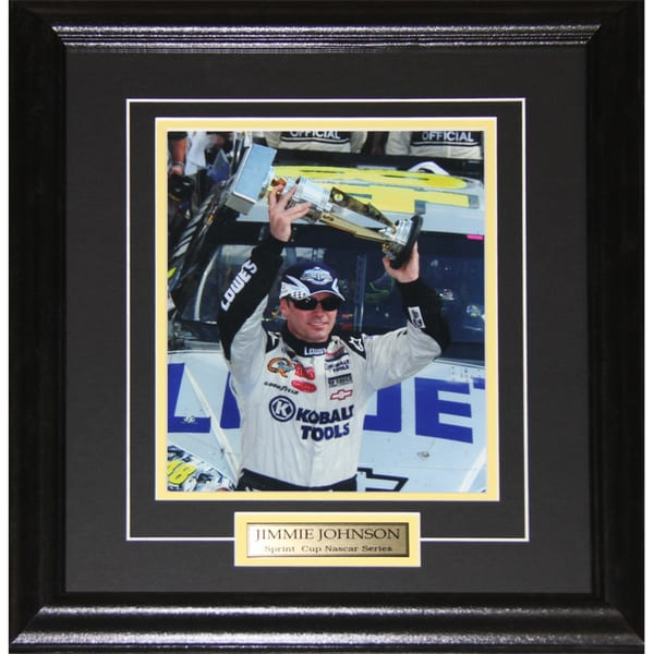 Jimmie Johnson Nascar Sprint Cup 8x10-inch Frame