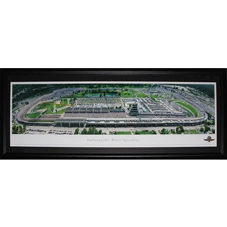 Indianapolis Motors Speedway Nascar Racing Panorama Frame