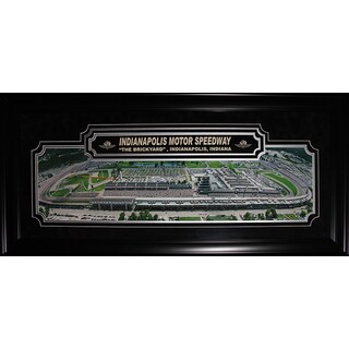 Indianapolis Motors Speedway Nascar Racing Deluxe Panorama Frame