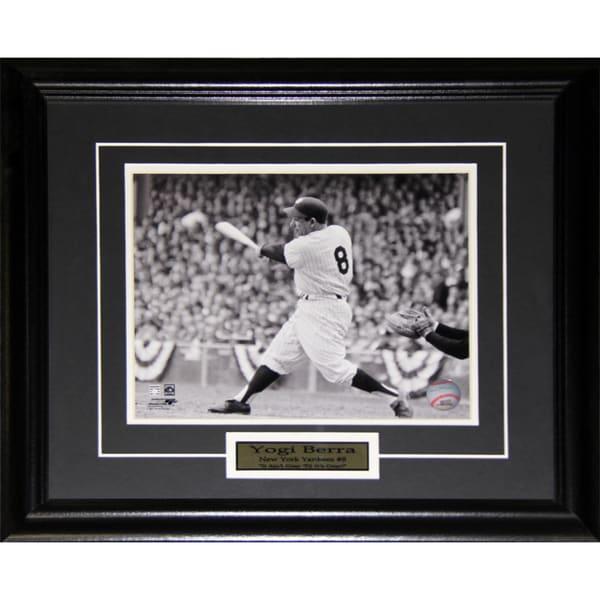 Yogi Berra New York Yankees 8x10-inch Frame