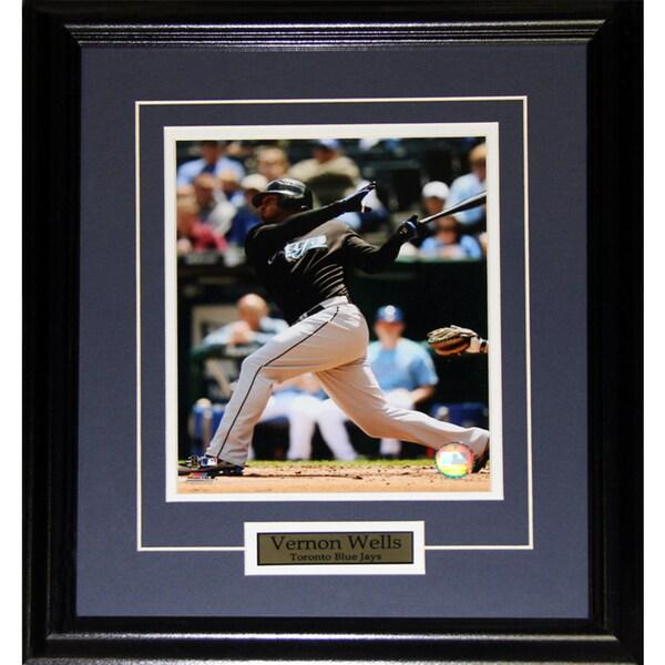 Vernon Wells Toronto Blue Jays 8x10-inch Frame
