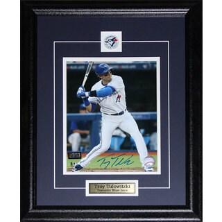 Troy Tulowitzki Toronto Blue Jays Signed 8x10-inch Frame