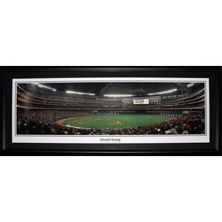 Toronto Blue Jays Rogers Centre Skydome Panorama Frame