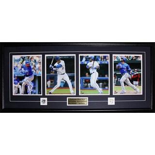 Toronto Blue Jays Josh Donaldson Jose Bautista Edwin Encarnacion Troy Tulowitzki 4 Photo Frame