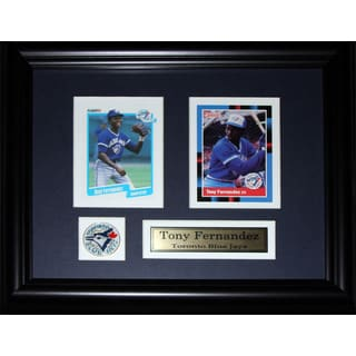 Tony Fernandez Toronto Blue Jays 2-card Frame