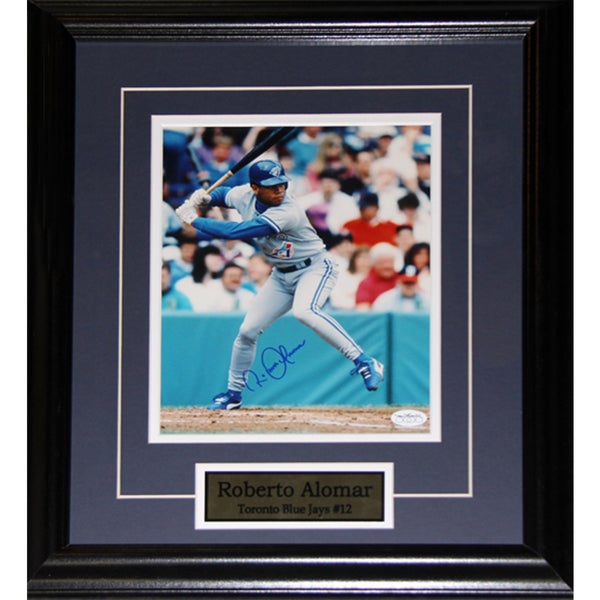 Roberto Alomar Toronto Blue Jays Signed 8x10-inch Frame