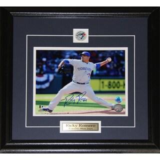 Ricky Romero Toronto Blue Jays Signed 8x10-inch Frame