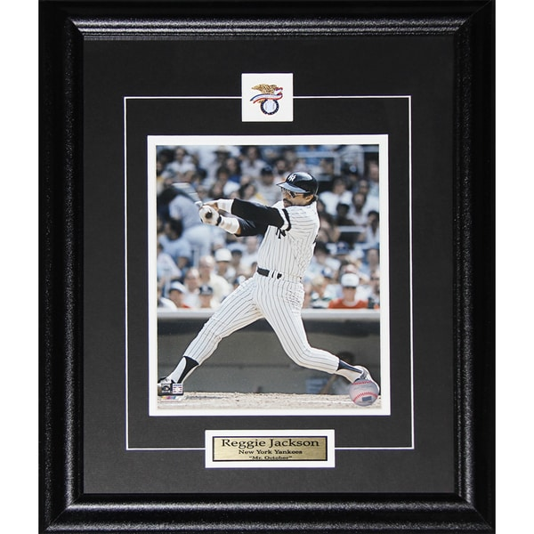 Reggie Jackson Mr. October New York Yankees 8x10-inch Frame