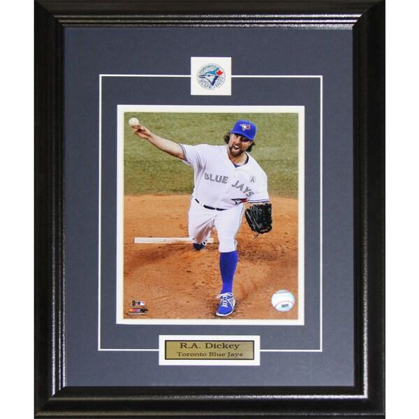 R.a. Dickey Toronto Blue Jays 8x10-inch Frame