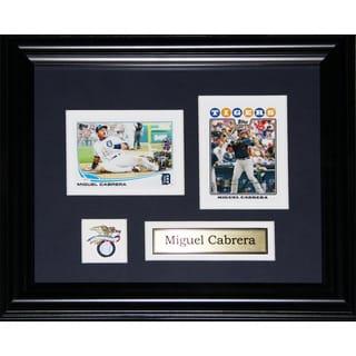 Miguel Cabrera Detroit Tigers 2-card Frame