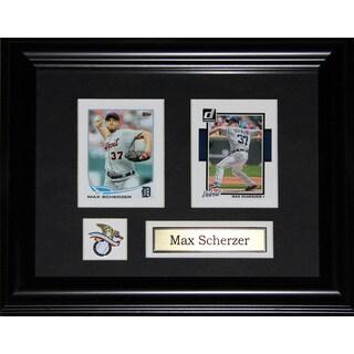 Max Scherzer Detroit Tigers 2-card Frame