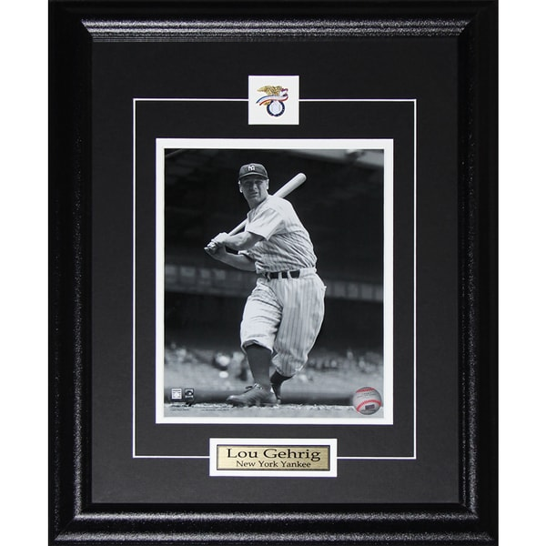 Lou Gehrig New York Yankees 8x10-inch Frame