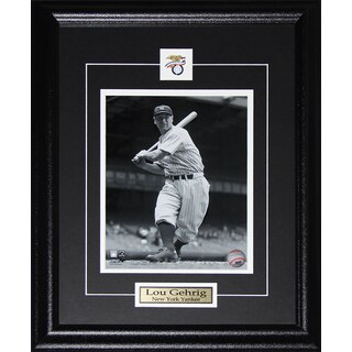 Lou Gehrig New York Yankees 8x10-inch Frame