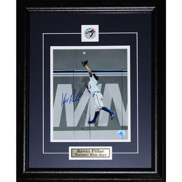 Kevin Pillar Toronto Blue Jays Signed 8x10-inch Frame