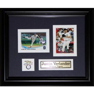 Justin Verlander Detroit Tigers 2-card Frame