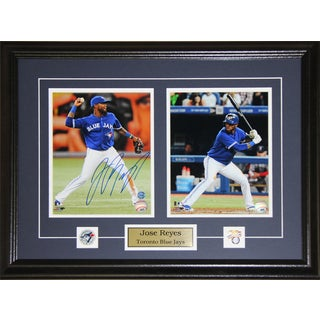 Jose Reyes Toronto Blue Jays Signed 2-photo Frame