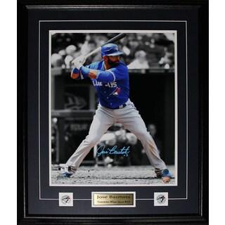 Jose Bautista Toronto Blue Jays Signed 16x20-inch Frame