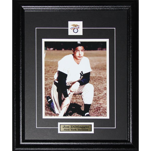 Shop Joe Dimaggio New York Yankees 8x10 Inch Frame Free Shipping